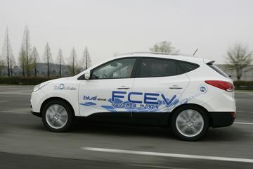 Hyundai zet waterstof-ix35 in de wachtkamer
