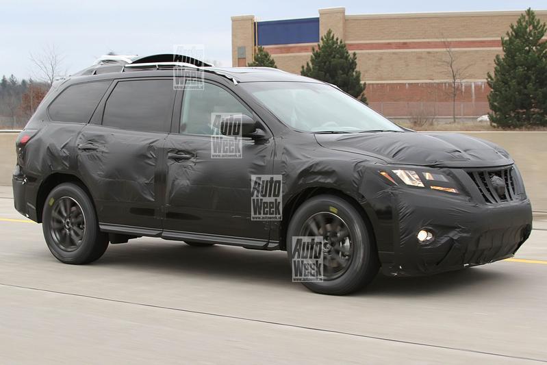 Nieuwe Nissan Pathfinder laat zich zien