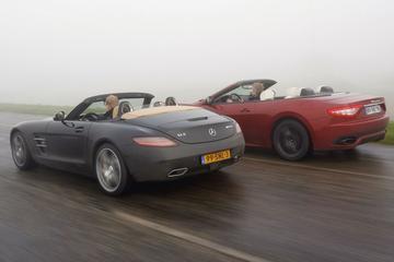 Maserati GranCabrio Sport – Mercedes-Benz SLS AMG Roadster