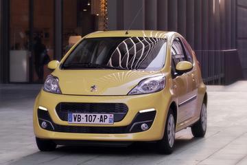 Meer over de vernieuwde Peugeot 107