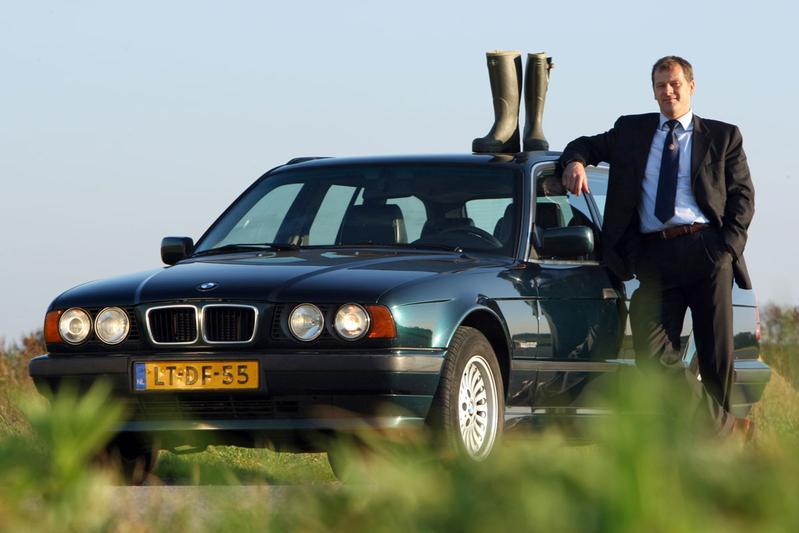 Klokje Rond BMW 525tds Executive