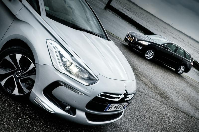 Citroën DS5 vs Peugeot 508 SW