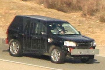 Opvolger Land Rover Freelander gespot