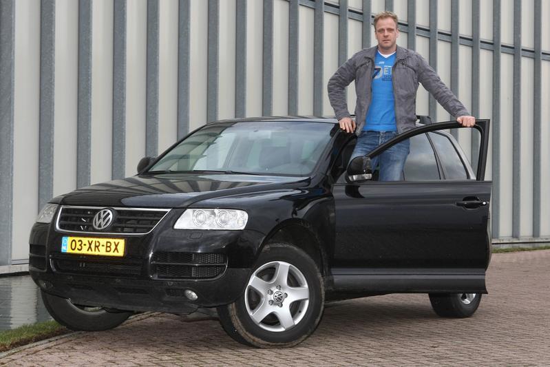 Klokje Rond: Volkswagen Touareg R5 TDI