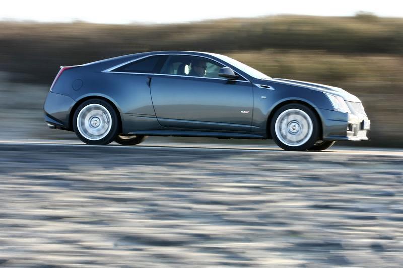 Rij-impressie Cadillac CTS-V Coupé