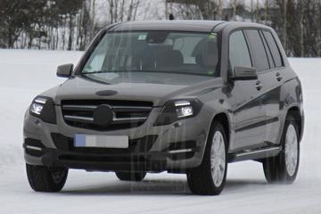 Mercedes GLK in de herkansing