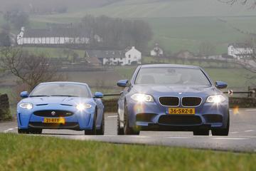 BMW M5 – Jaguar XKR-S Coupé