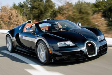 Bugatti Veyron Grand Sport nog sneller als Vitesse