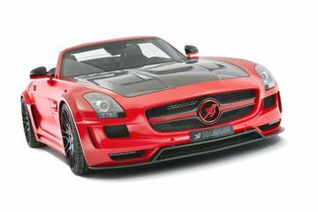 Hamann leukt Mercedes SLS AMG Roadster op tot Hawk