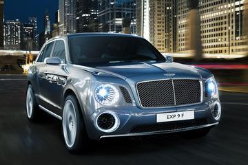 Bentley is serieus met de EXP 9 F: de motoren