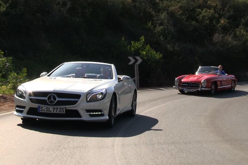 Rij-impressie Mercedes-Benz SL