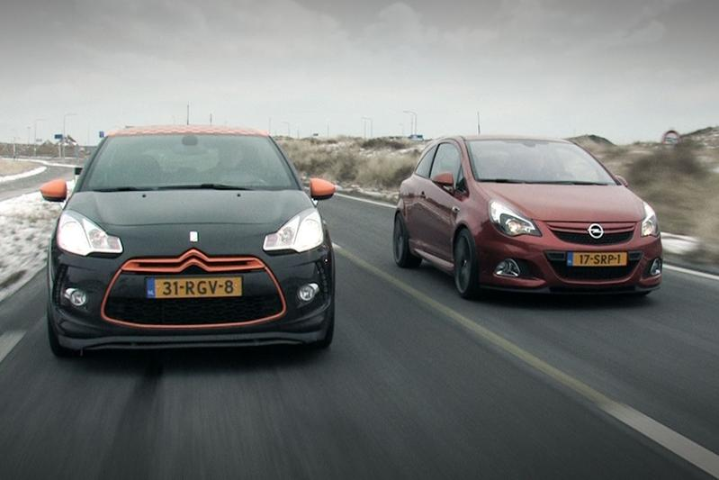 Opel Corsa OPC Nürburgring Editon vs. Citroën DS3 Racing