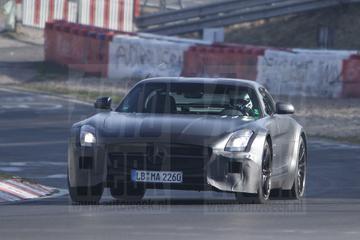 Mercedes SLS AMG Black Series doet mee op de Ring