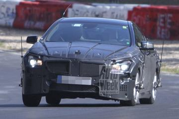 Mercedes test CLC op de Ring