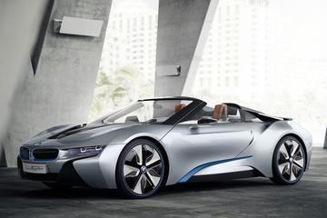 'BMW i8 Spyder debuteert in januari'