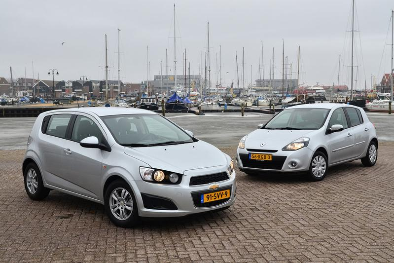 Chevrolet Aveo 1.3D LT - Renault Clio 1.5 dCi 85 Eco Collection