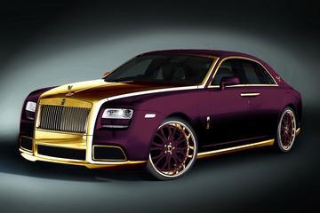 Rolls-Royce Ghost in de makeover