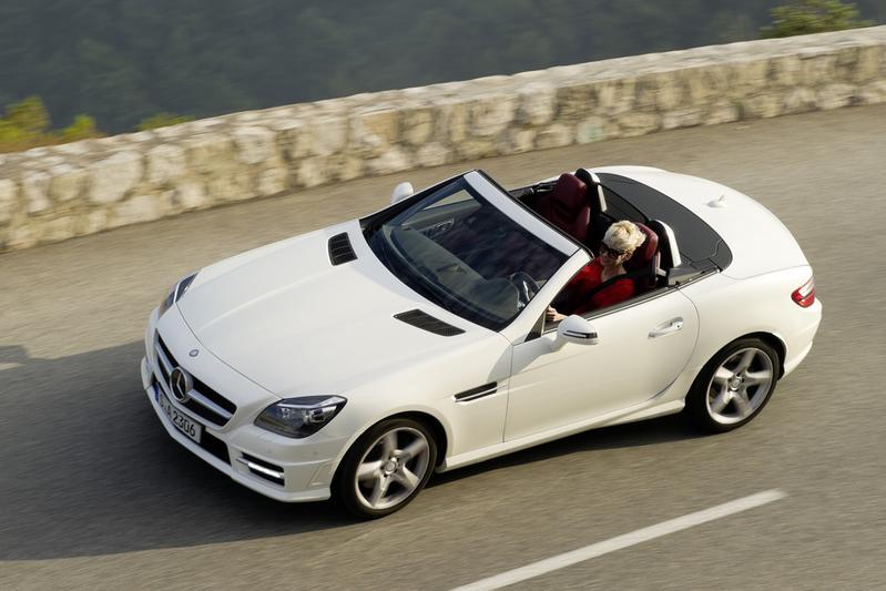 Mercedes-Benz SLK 250 CDI en SL 350