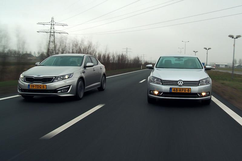 Kia Optima vs Volkswagen Passat