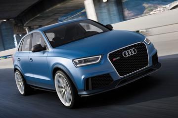 Audi RS Q3: Audi laat spierballen rollen in Peking