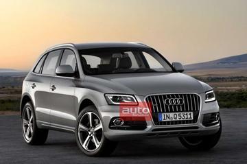 Nu al het eerste beeld van de Audi Q5 facelift!