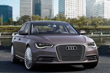 Hybride limo: Audi A6 L e-tron concept