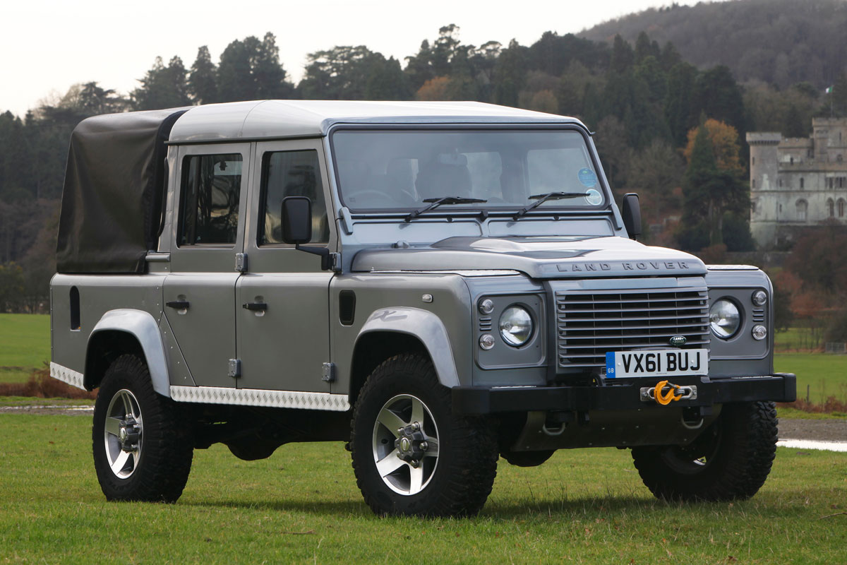 land rover defender 110 2 2 td pick up. Black Bedroom Furniture Sets. Home Design Ideas