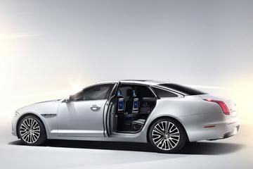 Baden in weelde: de Jaguar XJ Ultimate