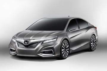 Nieuwe Honda sedan in China: de Concept C