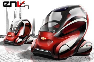 Auto van de toekomst in China: Chevrolet EN-V 2.0