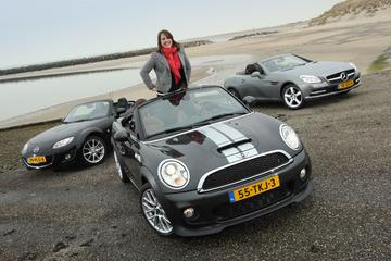 Mazda MX-5 - Mercedes-Benz SLK - Mini Roadster