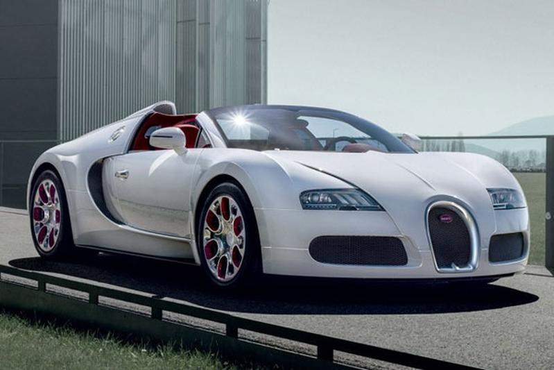 Welja: Bugatti Veyron Grand Sport Wei Long 2012