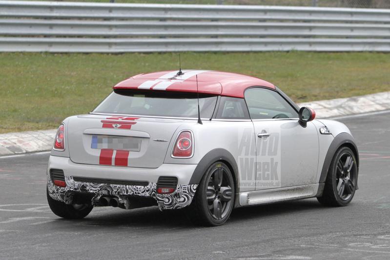 Geen verrassing: Mini JCW GP ook als Coupé