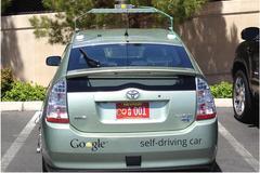 Google zelfsturende auto