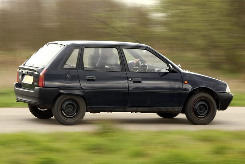 Klokje Rond - Citroën AX