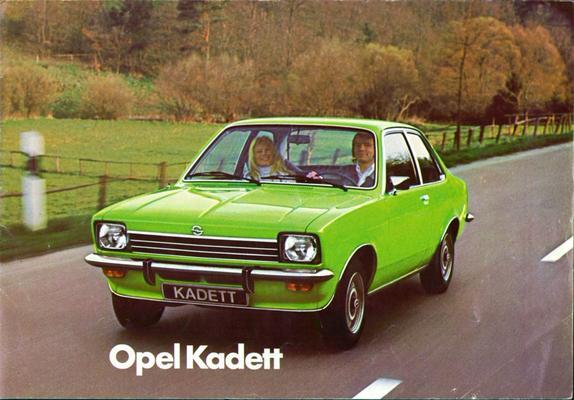 Brochure Opel Kadett 1976
