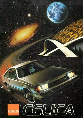 Brochure Toyota Celica 1982