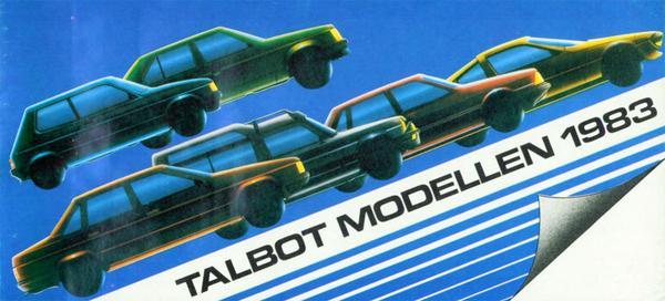 Brochure Talbot 1983