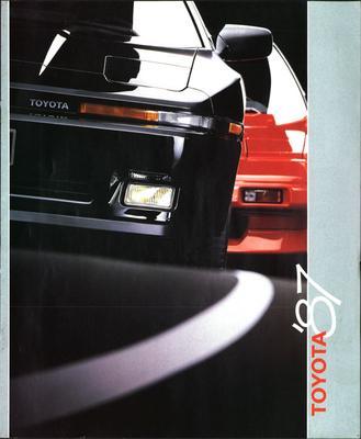 Brochure Toyota 1987