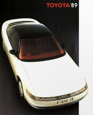 Brochure Toyota 1989