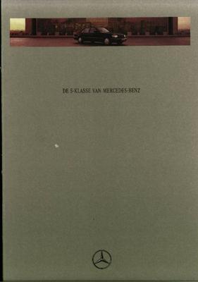 Brochure Mercedes S-klasse 1994