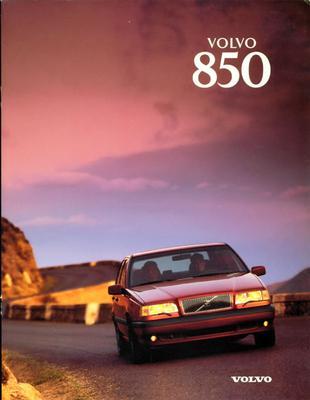 Brochure Volvo 850 1997