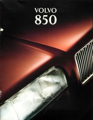 Brochure Volvo 850 1985