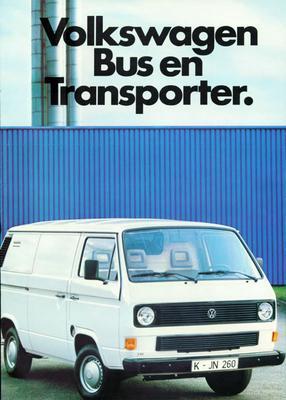 Brochure Volkswagen Bus 1984