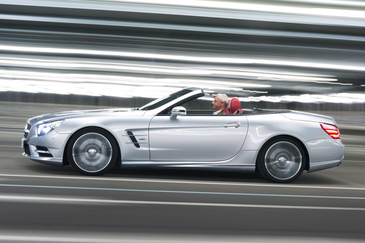 Mercedes benz slk 250 cdi en sl 350 eerste rijtest for Mercedes benz socal