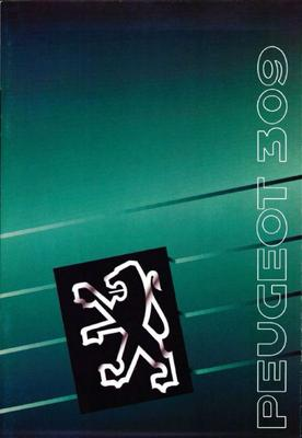 Brochure Peugeot 309 GTI