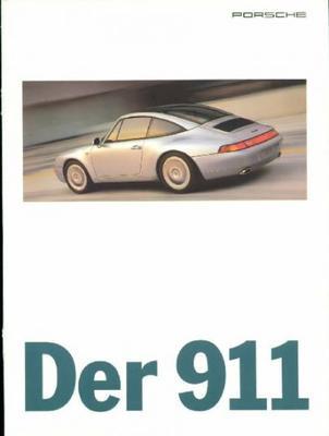 Brochure Porsche 911 (993) MY 1996