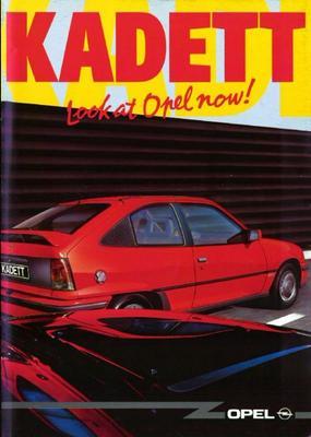 Brochure Opel Kadett 1991-11