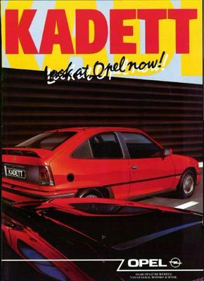 Brochure Opel Kadett 1990