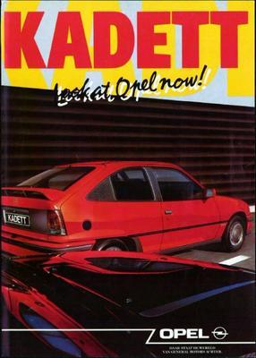 Brochure Opel Kadett 1990-9